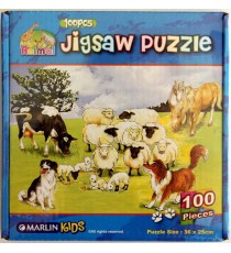 Marlin Kids Jigsaw puzzle 100 piece (boxed) 8 assorted designs