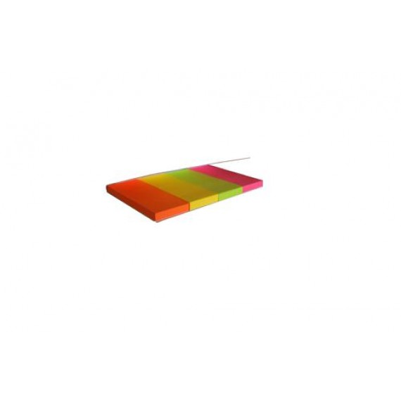 SELLO-FLAG PAPER TABS 50MMX20MM 4 COLOURS X 40 SHEETS NEON