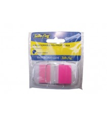 Sello-flag PP Flags 25mm x 43mm Single Colour - Pink (50 sheets) (Each)