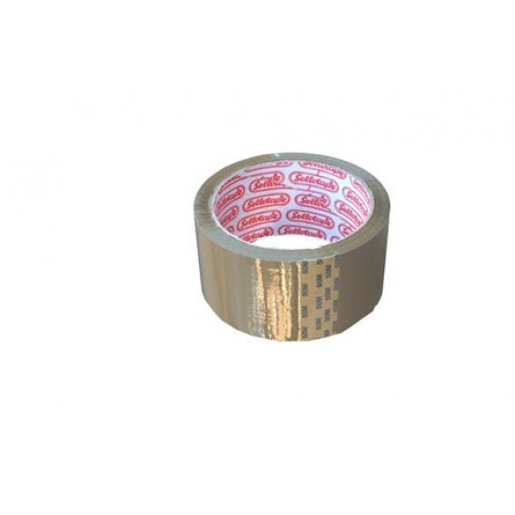 SELLOTAPE PACKAGING TAPE BUFF 48MMX50M BARCODED