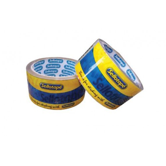 SELLOTAPE PACKAGING TAPE BUFF 48MMX50M ROLL