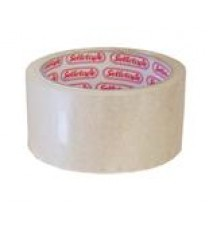 SELLOTAPE PACKAGING TAPE CLEAR 48MMX50M BARCODED