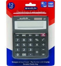 Marlin Desktop calculator 12 digit in blister card