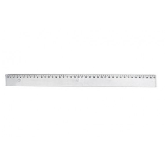 STEPHENS RULER 40CM CLEAR SHATTERPROOF EACH
