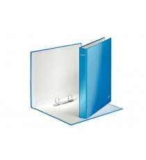 WOW RINGBINDER 25MM A4 BLUE 2DR GLOSS BOARD