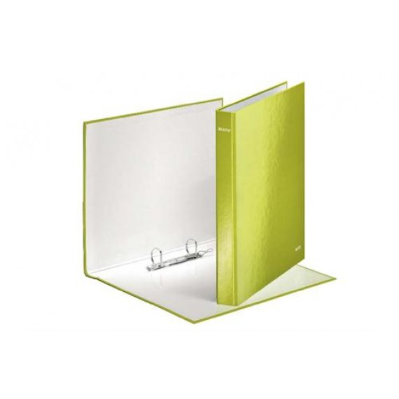 WOW RINGBINDER 25MM A4 GREEN 2DR GLOSS BOARD