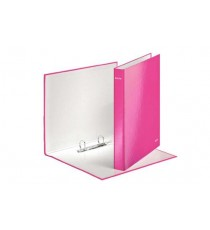 WOW RINGBINDER 25MM A4 PINK 2DR GLOSS BOARD