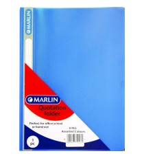 Marlin quotation folders Each