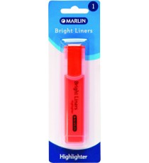 Marlin Bright liners highlighter 1's asst. colours