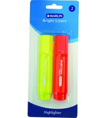 Marlin Bright liners highlighter 2's asst. colours