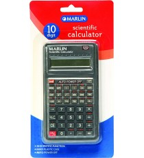 Marlin Scientific calculator 10 digit in blister pack 56 functions