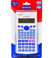 Marlin Scientific calculator in blister pack 240 functions
