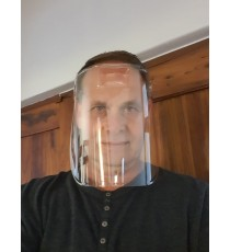 One-piece Reusable Face Shield / Mask
