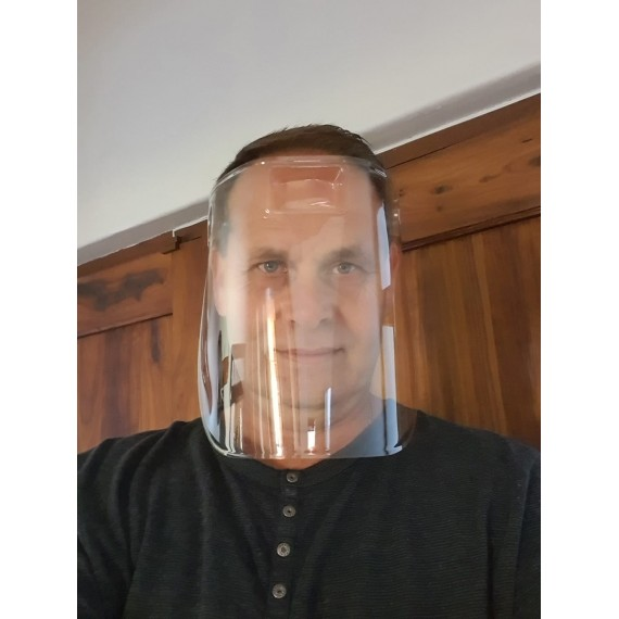 One-piece Reusable Face Shield / Mask