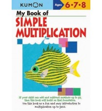 KUMON My Book Of Simple Multiplication