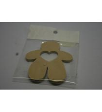 Gingerbread Man - Heart