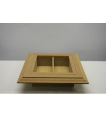 Box Frame with shelf