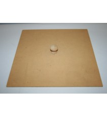 Dustbin lid with knob – Lrg