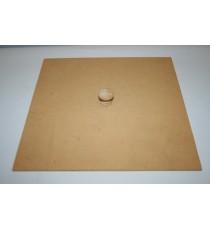 Dustbin lid with knob – Lrg