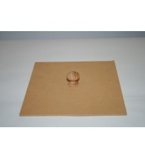 Dustbin lid with knob – Small