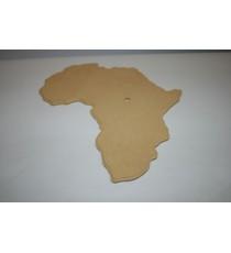 Clock Blank – Map Africa