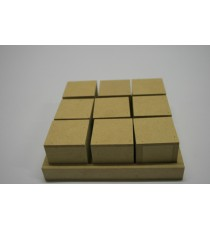 Cubes – 9 Blocks 40x40+tray