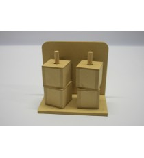 Cube Stand – 4 Cubes