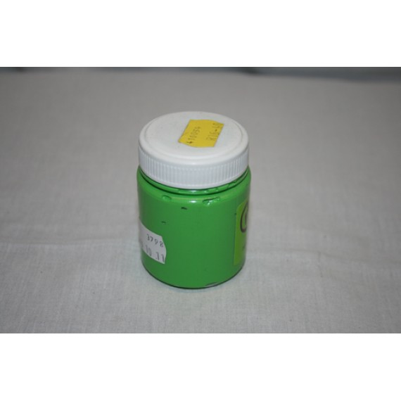 Fabric Paint Opaque Col 120ml Screw lid - Lime