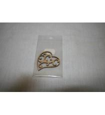 Lazer heart 50x45