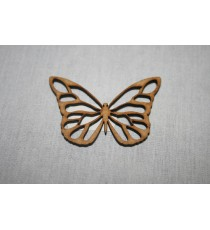 Lazer Butterfly with cut out 60x40x3mm