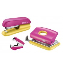 Stapler set Rapid Yellow/Pink
