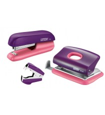 Stapler set Rapid Purple/Apricot